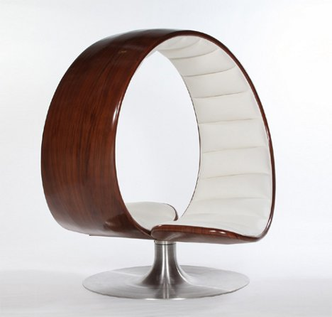 Merveilleux Designer Gabriella Asztalos Created This Intimate Chair With Simple Shapes  That Ultimately Made A Powerful And Stunning Piece Of Furniture.
