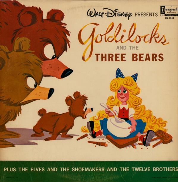 And the three bears dark
