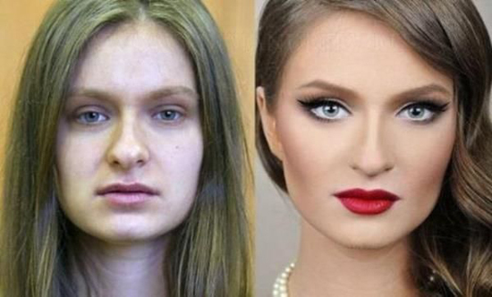 stunning makeup contouring before and after viralizeit